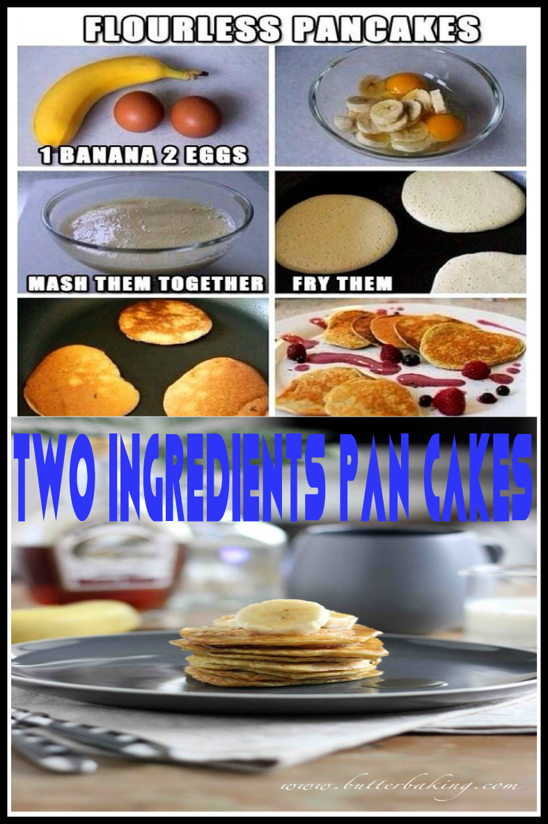 Blend 2 Ingredient Pancakes