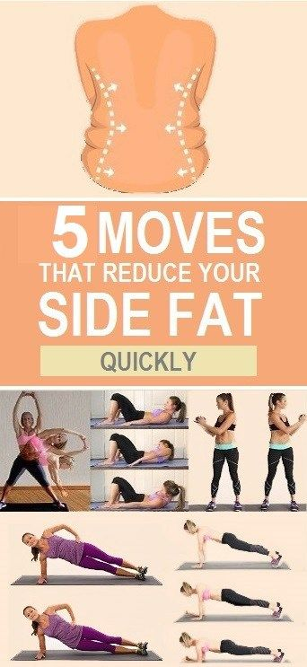 Exercises for Side Fat Reduction Exercises for Side Fat Reduction