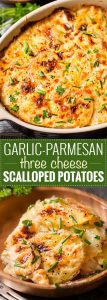 Garlic Parmesan Cheesy Scalloped Potatoes 107x300 Garlic Parmesan Cheesy Scalloped Potatoes