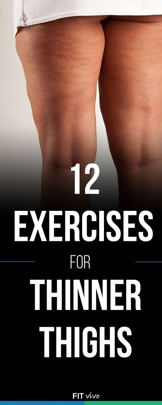 Thigh Workout For Women Top 12 Exercises For Thinner Thighs