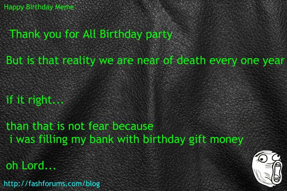 Happy birthday gift meme  60 HAPPY BIRTHDAY MEME BEST EVER