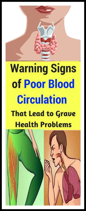 Warning Signs of Poor Circulation That Lead To Grave Health Problem Warning Signs of Poor Circulation That Lead To Grave Health Problem