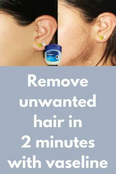 11 9 Remove Unwanted Hair In 2 Minutes With Vaseline