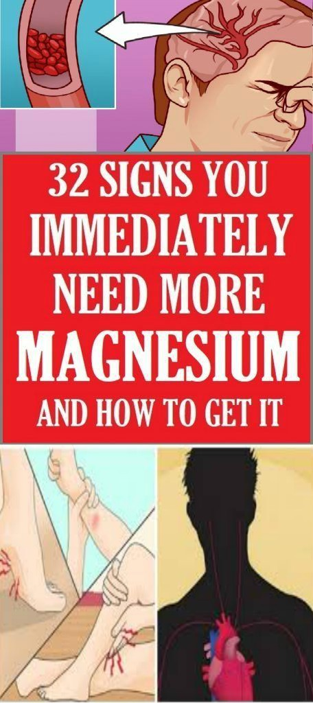 13 1 32 Signs You Immediately Need More Magnesium (And How To Get It)