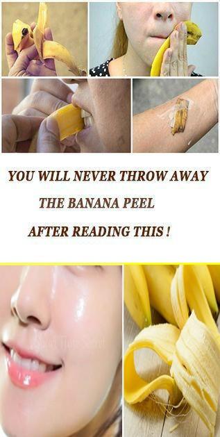 13 4 Banana Peel Remedies For Beautiful Face And Skin
