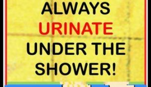 DOCTORS WILL NEVER SAY ABOUT THIS 4 REASONS WHY YOU SHOULD ALWAYS URINATE UNDER THE SHOWER!