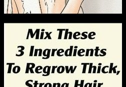 Mix These 3 Ingredients To Regrow Thick, Strong Hair In No Time