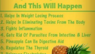 Try Drinking Pineapple Water Every Morning for a Year And This Will Happen