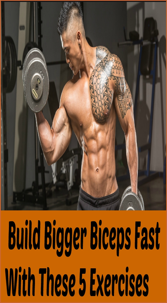 Build Bigger Biceps Fast With These 5 Exercises  Build Bigger Biceps Fast With These 5 Exercises