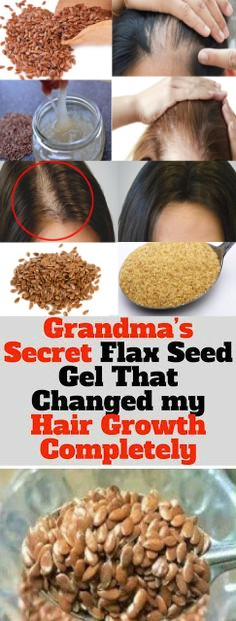 12 3 Grandma's Secret Flax Seed Gel That Changed My Hair Growth Completely