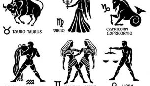 Different Signs of the zodiac design vector 04