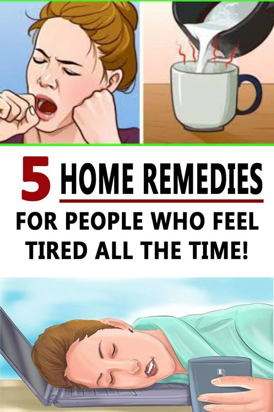 12 8 5 HOME REMEDIES FOR PEOPLE WHO FEEL TIRED ALL THE TIME!