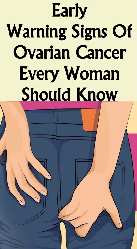 12 9 Early Warning Signs Of Ovarian, Cancer Every Woman Should Know!!!