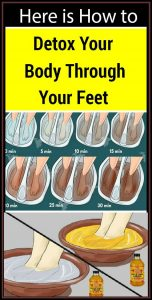 13 7 152x300 Here is How to Cleanse Your Body from Toxins Through Your Feet