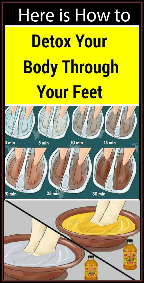 13 7 Here is How to Cleanse Your Body from Toxins Through Your Feet