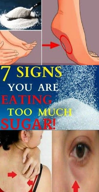 14 8 7 SIGNS YOU ARE EATING TOO MUCH SUGAR & YOU MUST STOP THE INTAKE IMMEDIATELY
