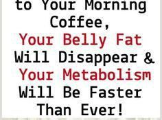 Just Add 1 Teaspoon of This to Your Morning Coffee, Your Belly Fat Will Disappear and Your Metabolism Will Be Faster Than Ever!