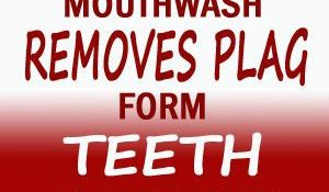This Homemade Mouthwash Removes Tooth Plaque In 1 Minutes