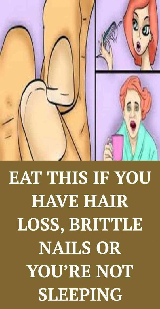 15 YOU NEED TO EAT THIS IF YOU HAVE HAIR LOSS, BRITTLE NAILS OR YOU'RE NOT SLEEPING