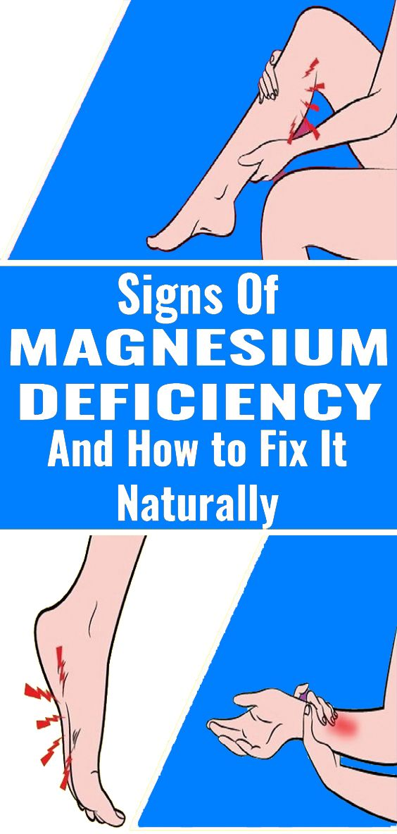 1 3 7 Signs and Symptoms of Magnesium Deficiency