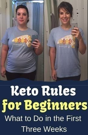 5 4 Keto Rules for Beginners: The First Three Weeks